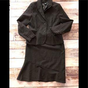 H&M skirt suit size 10- euc